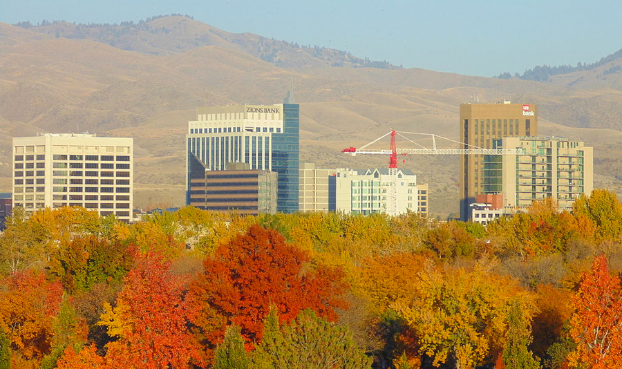 Autumn in Boise
