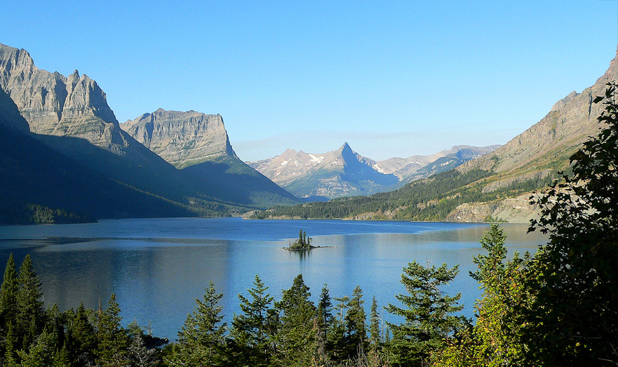 St. Mary Lake in Glacier National Park