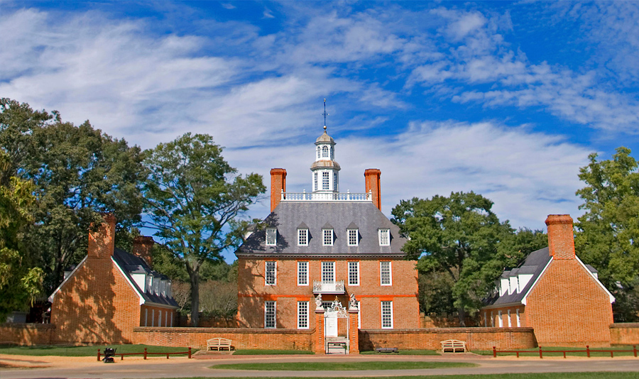 Williamsburg was Virginia's capital from 1699 to 1780.