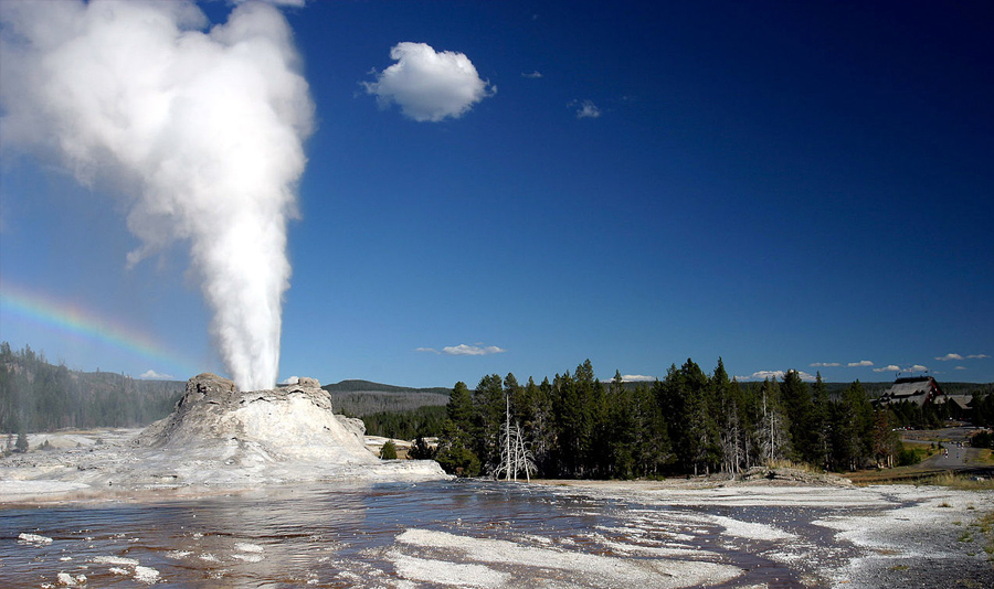 Yellowstone was the first National Park in the U.S. and is also widely held as the first national park in the world.